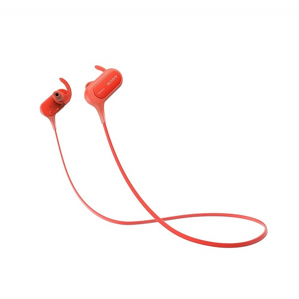 Sony MDR XB50BS in Ear Active Sports Wireless Headphones  Red