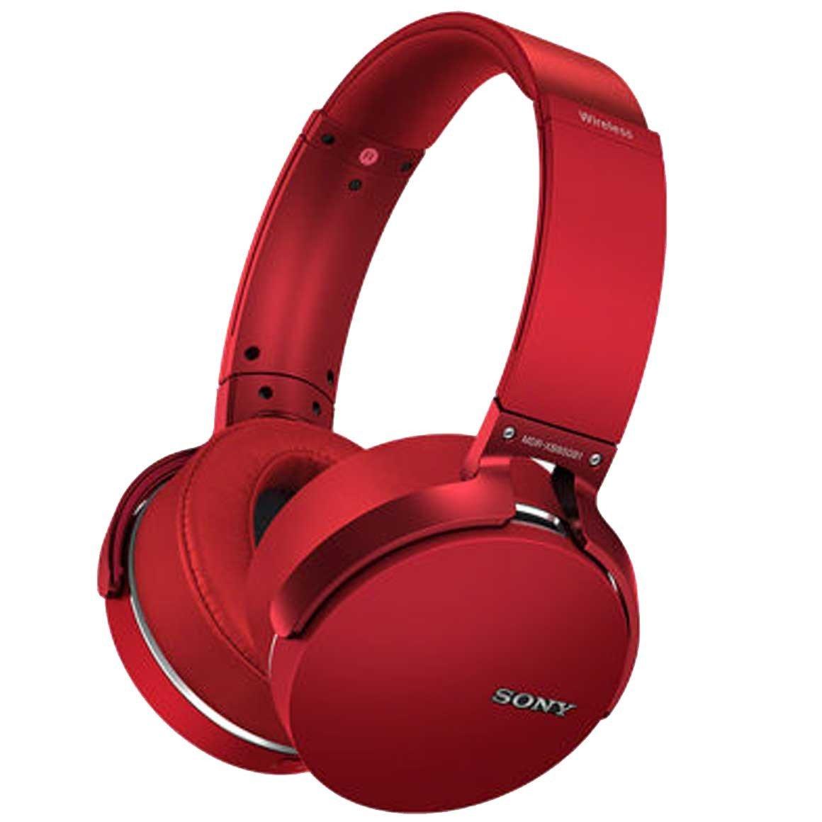 Sony MDR XB650BT Wireless Headphones  Red