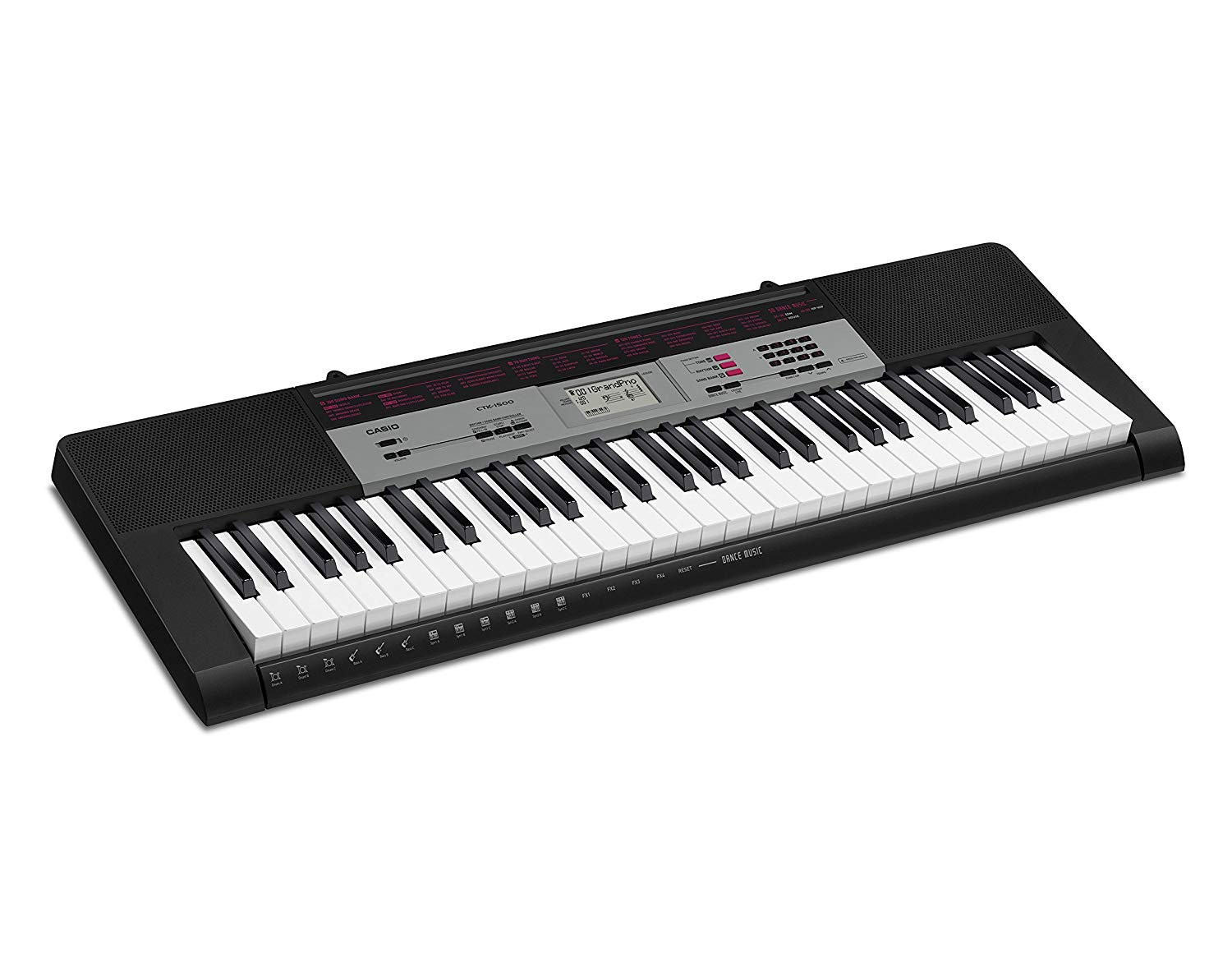 Casio CTK 1550 61 Keys Standard Keyboard