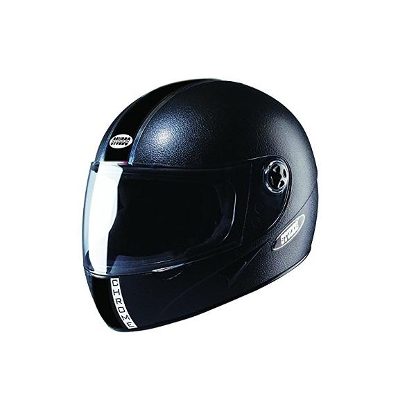 e5ab3e70 Buy Online Studds Chrome Full Face Helmet with Mirror Visor (Black Plain,  L) at cheap Price in India | 24eshop