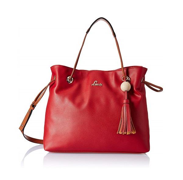 Buy Online Lavie Essen Large Satchel Girls handbag (Red) at cheap ... 6cef15640a