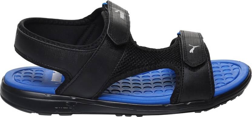 1a15a16899aa Buy Online Puma Men Puma Black-Puma Royal Sports Sandals at cheap ...