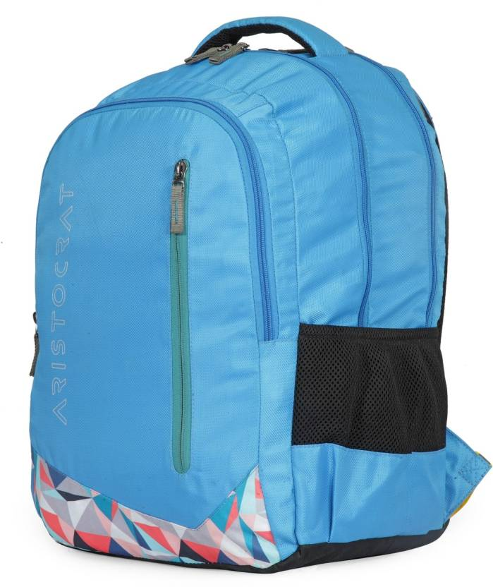 2db56bf6e056 Buy Online Aristocrat Wego 1 School Bag 36 L Backpack (Blue) at cheap Price  in India