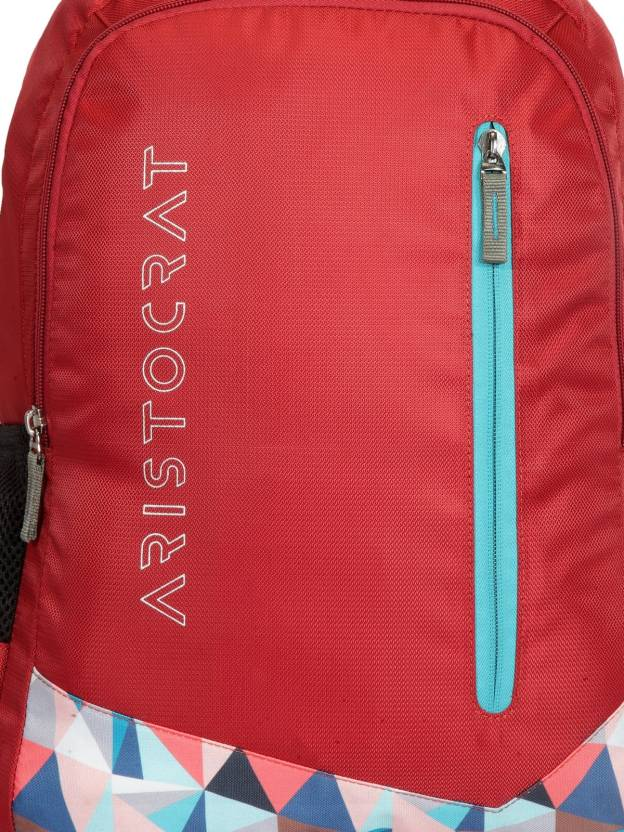 153e8ba4c763 Buy Online Aristocrat Wego 1 School Bag 36 L Backpack (Red) at cheap Price  in India
